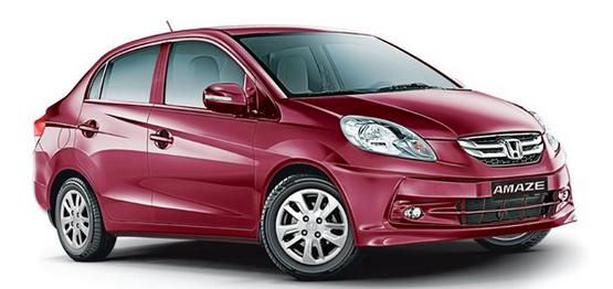 Honda Amaze Prices India