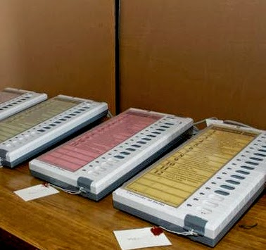 India Elections 2014 Voting Machine